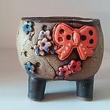 민들레수제화분0376|Handmade Flower pot