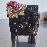 민들레수제화분0378|Handmade Flower pot