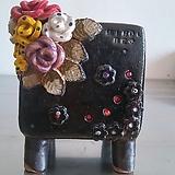민들레수제화분0379|Handmade Flower pot