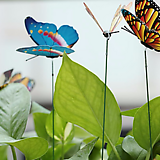 화분장식용 입체나비♥가든픽 데코픽♥화분장식 화분 데코레이션♥입체나비 3D 나비|