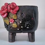 민들레수제화분0411|Handmade Flower pot