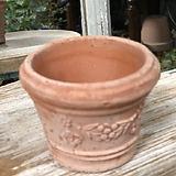 테라코타 이태리수입토분(소분)꽃잎열매원형