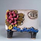 민들레수제화분0430|Handmade Flower pot
