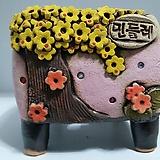 민들레수제화분0434|Handmade Flower pot