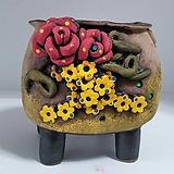 민들레수제화분0445|Handmade Flower pot