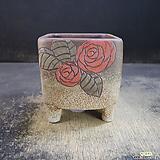 수제화분(사각라인분)02|Handmade Flower pot