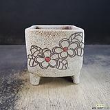 수제화분(사각라인분)58|Handmade Flower pot