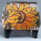 민들레수제화분0453|Handmade Flower pot