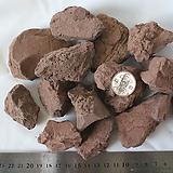 벽돌색 돌30-50mm≒(벽돌색 화산석과 혼합발송)|