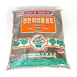 [배송비무료]품질좋은 용토 대용량70리터 정한미생물용토 분갈이흙 상토 용토 배양토 흙|