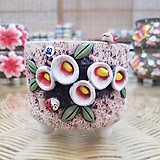 서우 수제화분(40) 본드 붙힘 Handmade Flower pot