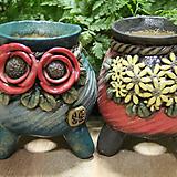 수제화분 두개셋트 Handmade Flower pot