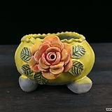 최고급장미조각국산수제화분-4310|Handmade Flower pot
