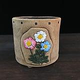 꽃조각작가고급국산수제화분-4221|Handmade Flower pot