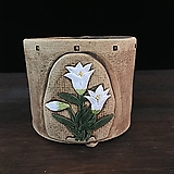 꽃조각작가고급국산수제화분-4222|Handmade Flower pot