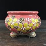 꽃그림고급국산수제화분-4392|Handmade Flower pot