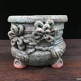 큰사이즈,대품꽃조각깊은국산수제화분-4180|Handmade Flower pot