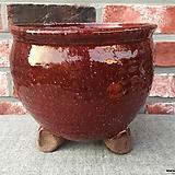 많이큰,대품묵직최고급진사국산수제화분-2977|Handmade Flower pot