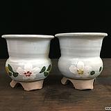 꽃그림국산수제화분 2종세트-4498|Handmade Flower pot
