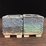 작지만단단한고급수제분 2종세트-4511|Handmade Flower pot