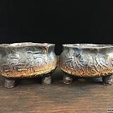 멋스러운타원국산수제화분 2종세트-4512|Handmade Flower pot