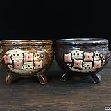 수입굽달이수제화분 2종세트-4497|Handmade Flower pot