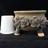 꽃조각최고급국산수제화분-4070|Handmade Flower pot