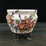 큰사이즈,꽃조각최고급국산수제화분-4461|Handmade Flower pot