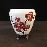 백자작가최고급국산수제화분-4522|Handmade Flower pot