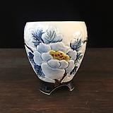 백자작가최고급국산수제화분-4523|Handmade Flower pot