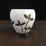 백자작가최고급국산수제화분-4528|Handmade Flower pot