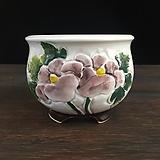 백자작가최고급국산수제화분-4529|Handmade Flower pot
