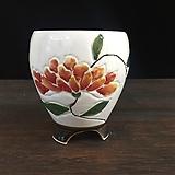 백자작가최고급국산수제화분-4533|Handmade Flower pot