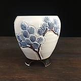 백자작가최고급국산수제화분-4535|Handmade Flower pot