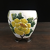 백자작가최고급국산수제화분-4543|Handmade Flower pot