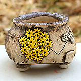 국산수제분#27029|Handmade Flower pot