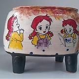 민들레수제화분0478|Handmade Flower pot