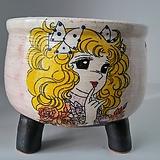 민들레수제화분0497|Handmade Flower pot