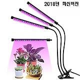 타이머내장 5단계 밝기조정♥색상선택점등 식물생장 LED 3-헤드 올인원 타입♥다육이 실내재배 월동 필수품♥식물생장 LED♥다육이등 다육
