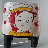 민들레수제화분0501|Handmade Flower pot
