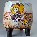 민들레수제화분0516|Handmade Flower pot