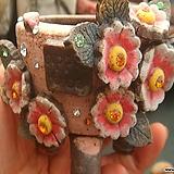 애플트리화분-꽃장식작품|