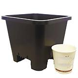 플분도매 플라스틱화분 18cm플분 5호1box(100개) 