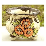국산수제분#25508(중고)|Handmade Flower pot