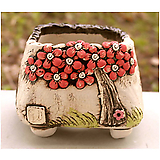 국산수제분#25502|Handmade Flower pot