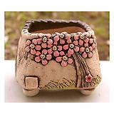 국산수제분#25504|Handmade Flower pot
