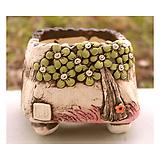 국산수제분#25505|Handmade Flower pot