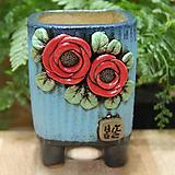 수제화분 봄날공방 사각소분|Handmade Flower pot