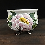 최고급백자 국산수제화분-5586 Handmade Flower pot