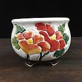 최고급백자 국산수제화분-5587 Handmade Flower pot